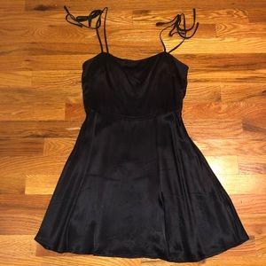 F21 Tie Strap Skater Dress
